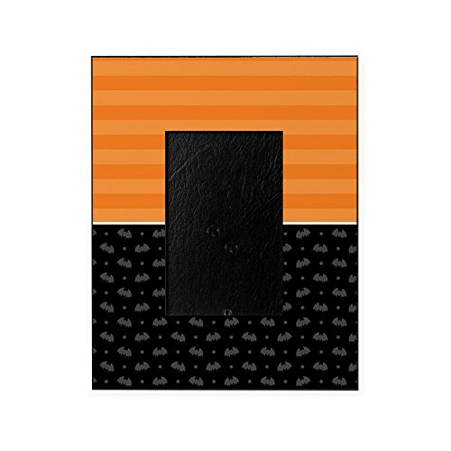 CafePress - Half Stripe Bat Pattern - Decorative 8x10 Picture Frame (Spooky Photos Halloween)