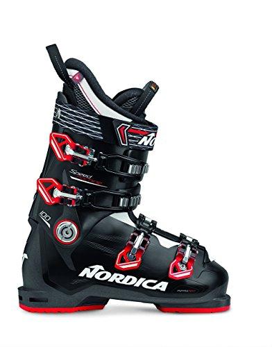 Nordica Speedmachine 110 Ski Boot - Men's Black/Red, (Nordica Mens Ski Boots)