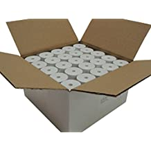 "Thermal Paper 2-1/4"" x 75' rolls 1.5"" diameter, CORELESS, BPA Free, 1 box of 50 rolls"