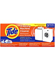 Tide Washing Machine Cleaner, Washer Machine Cleaner Tablets, Front & Top Loader Machines, 3 Count