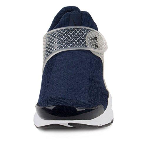 Nike Mens Calzino Dardo Scarpa Da Corsa Scuro Ossidiana / Blu Francese