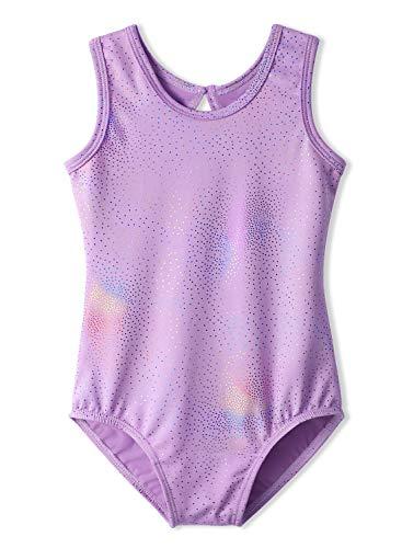 Purple Ballet Leotards for Toddler Girls 2t 3t Toddlers Gymnastics Leotard Unitard (Leotard Gymnastics Infant)