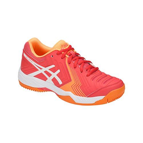 Damen Asics 6 506 Gel orange Clay Game Tennisschuh zBp6Xz