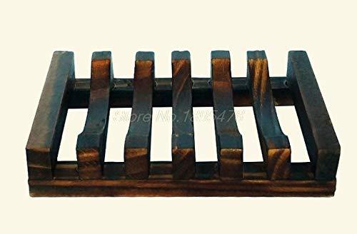 Shelf Wall Wooden - 100pcs Trapezoid 10.8x8x2.5cm Wooden Handmade Bathroom Wood Soap Dish Box Container Tub Storage Cup - Racks Holders Storage Storage Holders Racks Soap Wood Holder Shelf Wall by Oaknit (Image #5)
