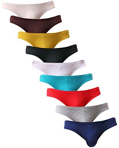 yuyangdpb Mens Supersoft Modal Briefs Low Rise Lightweight Underwear
