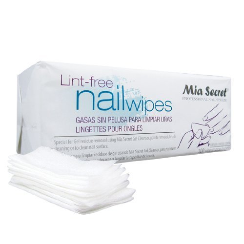 Professional Lint Free Nail Wipes 100 Wipes by Mia Secret