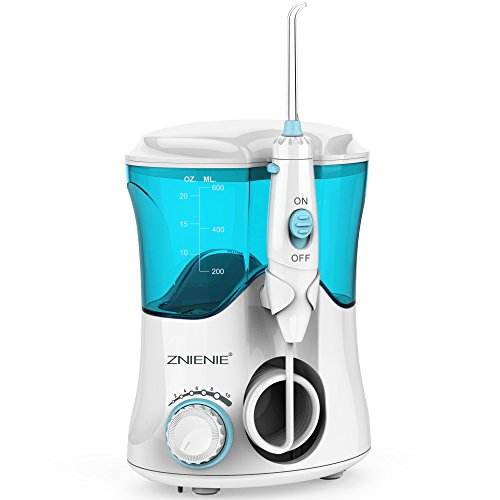Water Flosser 10 Pressure Settings Water Pick 600ml High Capacity Oral Irrigator with 7 Multifunctional Tips for Family – FDA Approved