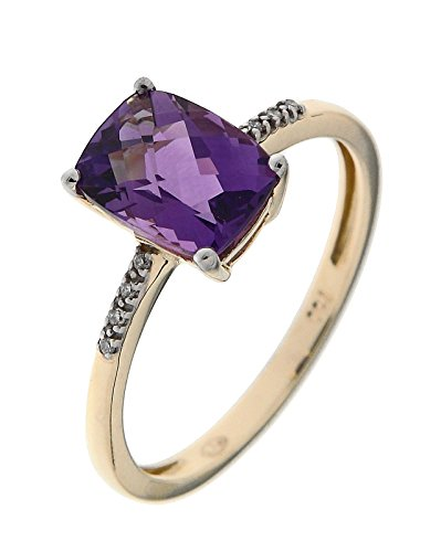 Bague Or 750 Amethyste ref 42573