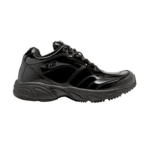 (3N2 Reaction Referee Patent Leather EE Baseball Equipment, Black Patent Leather, Size 10)