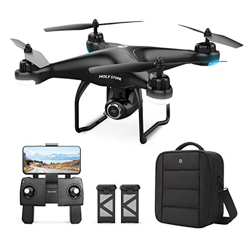 Holy Stone HS120D GPS Drone with Camera for Adults 2K UHD FPV, Quadcotper with Auto Return Home, Follow Me, Altitude…