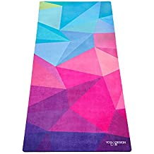 YOGA DESIGN LAB THE KIDS YOGA MAT by Eco-friendly + Supportive + Colorful Childrens Exercise Mat | Non Toxic | Ideal for Yoga, Pilates, Gymnastics, Dancers, Athletes, Play | Includes Carrying Strap!