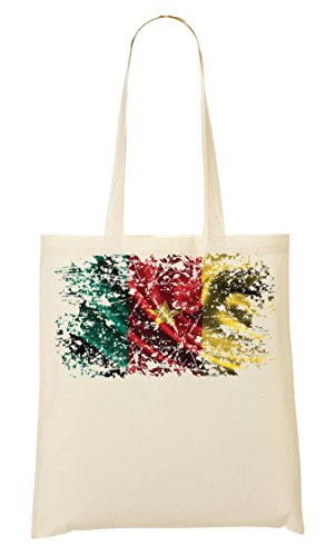 Nationality La Series Yaounde De De Cameroon Flag Bolsa Mano Compra Nice To Africa Country Bolso IFCxCpS