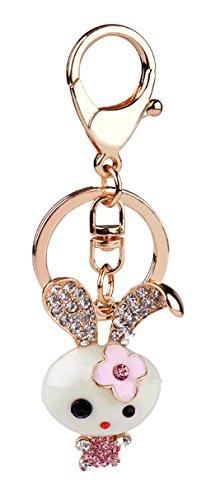 Wander Agio Fashion Jewelry Sweater Key Chains Fs Keychain Bag Gift Rabbit ()