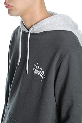 Black Tone Stussy Two Hoodie grey tgq5fqw