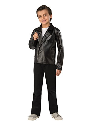 Rubie's Costume Boys Grease Jacket Costume, Small, (T-bird Jacket)