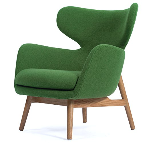 New Pacific Direct 1020003-196 Devana Accent Chair Furniture, Forest Green