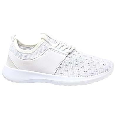 MYSHOESTORE Trainers - Zapatillas para deportes de interior de Material Sintético para mujer Negro negro 35.5, color Negro, talla 42