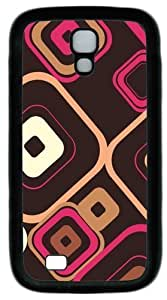 Cool Painting Samsung Galaxy I9500 Case, Samsung Galaxy I9500 Cases -Retro Squares Custom PC Soft Case Cover Protector for Samsung Galaxy S4/I9500 by icecream design
