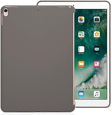 KHOMO Funda iPad Air 3 10.5 (2019) / iPad Pro 10.5 (2017) Carcasa Trasera Ultra Delgada y Ligera Compatible con Smart Cover - Cocoa