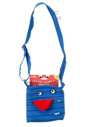 ZIPIT Monster Children Mini Shoulder Bag, Blue Photo #4