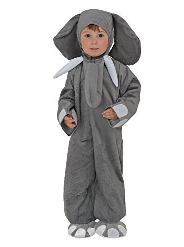 Halloween Kids Children's Elephant Costume 3-4 YEARS 3T, 4T by Little Baba's (Elephant Kids Costume)