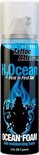 (H2Ocean Ocean Foam Tattoo Aftercare, 2 Ounce)
