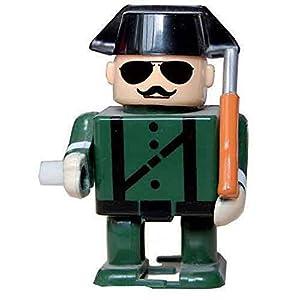 Guardia Civil de plastico con gafas y bigote 1