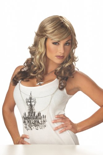 California Costumes Rock Vixen, Blonde/Brown, One Size