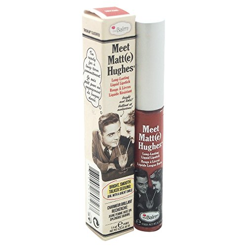 Meet Matt(e) Hughes Long Lasting Liquid Lipstick, Sincere, Lightweight Matte Finish, 0.25 fl oz