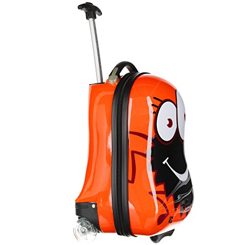 Eurotravel Kinder-Trolley Spinne rot