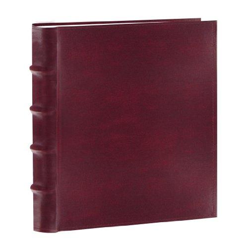 Pioneer Photo Albums 100-Pocket European Bonded Leather Photo Album for 4 by 6-Inch Prints, (Bonded Leather Photo Frame)