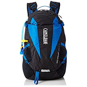 Camelbak Products Octane 22 LR Hydration Pack, Black/Skydiver, 100-Ounce
