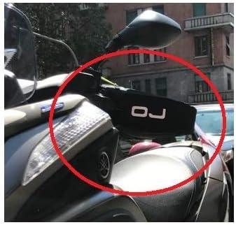 pour BMW C1 125 Manchons Thermique OJ C011 Micro Pro Hand Mains UNIVERSELLES pour Scooters DE Motocyclette Couverts DE Tissu avec Padding