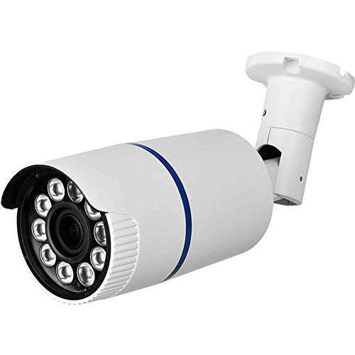 HDView License Plate Camera, 4-in-1 (TVI/CVI/AHD/960H) Bullet Camera, 2.4MP Full HD 1080P Security Camera with IR Night Vision, Long Range 5-50mm Lens Surveillance Camera, WDR, HLC ()