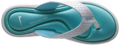 Nike Sweet Classic High (Gs/Ps) - Zapatillas de ante para niño White/Polarized Blue