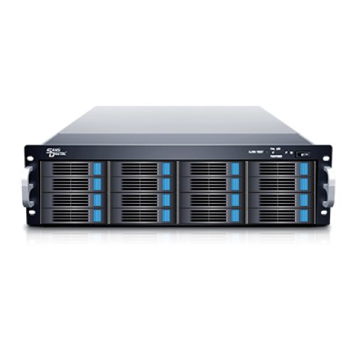Sans Digital EliteSTOR - 3U 16 Bay 12G SAS/SATA to SAS JBOD with 12G SAS Expander Rackmount (ES316X12) by Sans Digital (Image #2)'