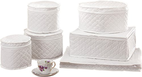 Miles Kimball Dinnerware Storage Set