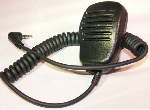 Yaesu Original MH-34B4B Speaker Microphone w/Swivel Clip & 3.5 mm Earpiece Audio Jack