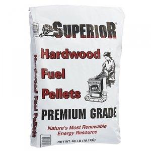 Superior Premium Grade Hardwood Fuel Pellets