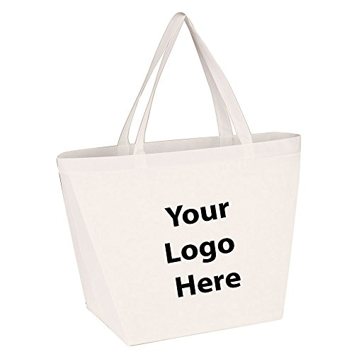 Budget Shopper Tote Bag - 100 Quantity - $1.35 Each - Promotional Product/Bulk with Your Logo/Customized.]()