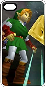 Link & The Tri Force Clear Plastic Case for Apple iPhone 4 or iPhone 4s by icecream design