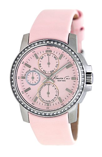 Kenneth Cole New York Men's KC2696 Classic Chronograph with Pink Dial Watch