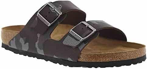 Birkenstock Arizona Soft Footbed Unisex Sandal 46 M EU Camouflage-Brown
