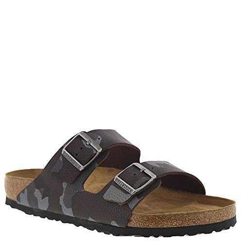 Birkenstock Arizona Soft Footbed Unisex Sandal 46 M EU Camouflage-Brown