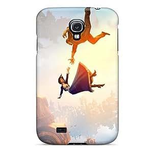 Samsung Galaxy S4 AoV1468ntFv Custom Beautiful Bioshock Infinite Falling Series Durable Cell-phone Hard Covers -case88zeng