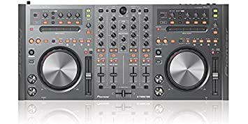 """The ddj-t1 easily connects with a user's laptop via usb for quick """"plug-and-play """" capability. For further convenience, the controller also comes with a computer."""