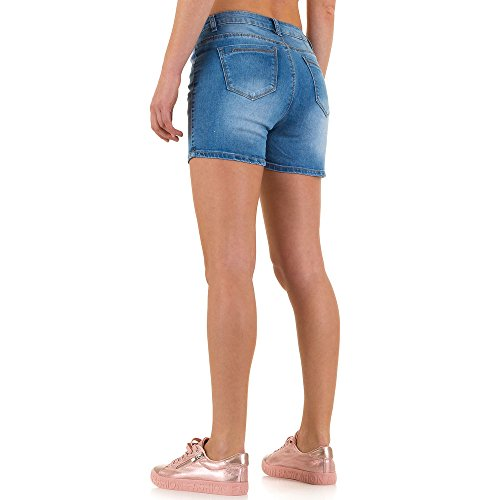 Used Look Jeans Shorts Für Damen , Blau In Gr. L/40 bei Ital-Design