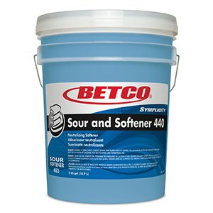 Symplicity ™ Sour and Softener 440- 5 Gallon Pail by Betco