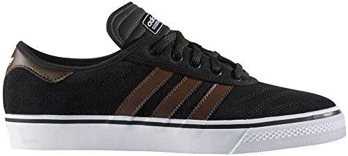 Adidas Originali Da Uomo Adi-ease In Anteprima Fashion Sneaker Nero / Marrone / Bianco