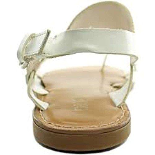 Bar IIIVoltage - Zapatos con correa de tobillo mujer blanco